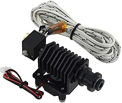 3Dman BP6 Hotend Kit 24V Straight Through Throat Extruder 0.4mm Nozzle Replace V6 for 1.75mm Filament 3D Printer
