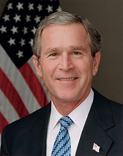 George W. Bush Photograph - Historical Artwork from 2003 - US President Portrait - (8