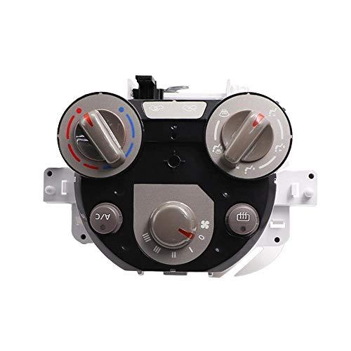 YJDTYM Aire A/C Calentador Control de Control de Clima Interruptor/Ajuste para Nissan Sunny/Marzo/Almera/Micra 2010-K13 Versa 12-13 27510-00C31 655-58710