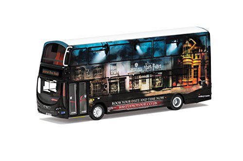 Corgi om46513 Wright Eclipse Gemini 2 Harry Potter Warner Bros. Studio Shuttle bus model