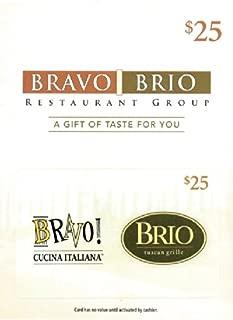 Bravo Brio Gift Card