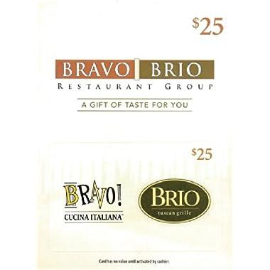 Bravo Brio $25 Gift Card