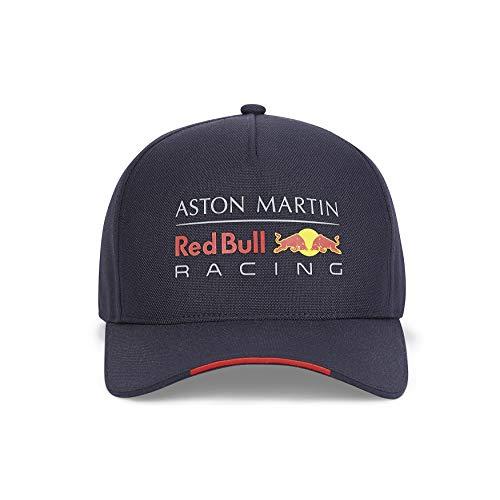 Red Bull Racing Offizielle Formel 1 Merchandise 2020 - Klassische Logo-Fankappe - Team-Logo-Aufdruck - Blau - One Size
