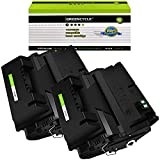 GREENCYCLE 2 Pack Black High-Yield Compatible Toner...