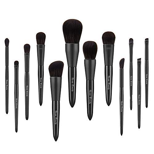 Neria - Juego de brochas de maquillaje (12 unidades)