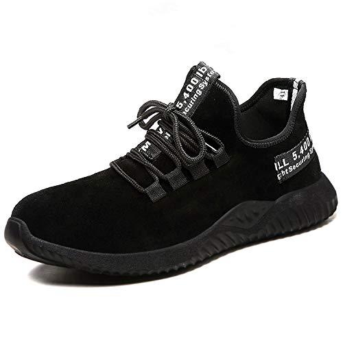 Chaussures de Sécurité Homme Embout Acier Protection Léger Basket Securite Chaussures de Travail Unisexes