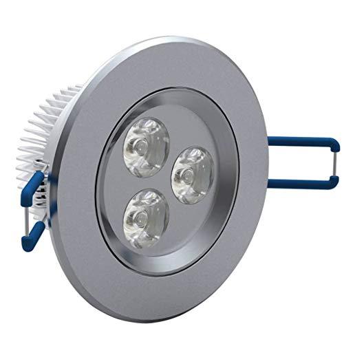 vidaXL 12x 3W LED Spot Einbauleuchte Warmweiß Strahler Set Decken Leuchte Lampe