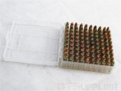 OTSupplier Heavy Duty See-Thru Ammunition Storage Boxes .22LR- 2 PACK