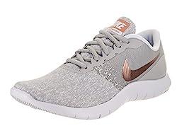 נעלי נייק לנשים Nike Women's Flex Contact Running Shoe Wolf Grey/Metallic Rose Gold