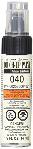 TOYOTA Touch up Paint 040 Super White Genuine Scion/Lexus