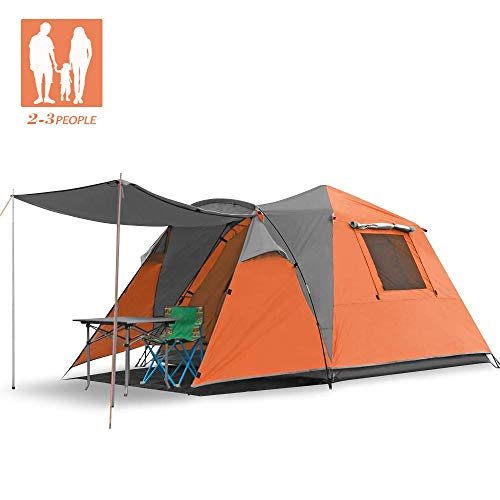 SKYLINK Tente de randonnée 4 Personnes 4 Saisons étanche et légère pour Camping, randonnée,...