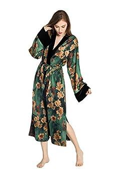 KIM+ONO Kimono Wrap - Watercolor Floral Azumi- Green
