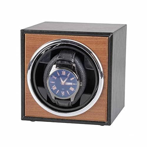 ZYING Reloj Winder para Relojes automáticos Nueva VERSIÓN 4 + 6 Accesorios de Reloj de Madera Relojes Caja de Almacenamiento Colector de Almacenamiento 3 Modo de rotación Solo (Color : A)