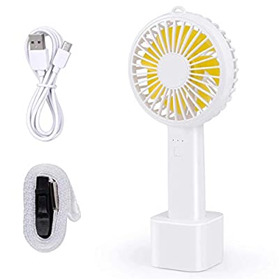 Portable Fan,3 Speeds Adjustable Personal Mini ...
