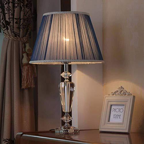 GUOCAO Luz Lámparas de mesa, fino y elegante lámpara de mesa, lámpara de tabla creativa, Dormitorio de noche los niños que trabajan Rines decorativos Mesa