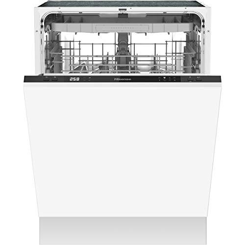 Hisense HV60340 Lave-vaisselle entièrement intégré / 60 cm/A++ / 14 couverts/tiroir à couverts/programme Eco/programme court