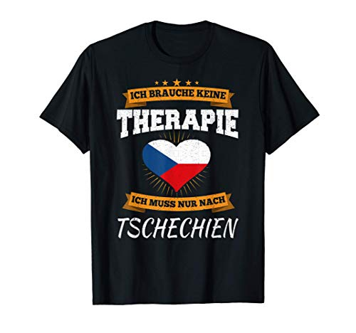 Tschechische Flagge I Tschechien Flagge I Urlaub Tschechien T-Shirt