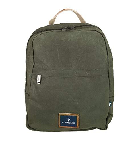 Rucksack aus gewachstem Canvas - Urban Backpack - Freizeitrucksack - Stainberg - 10l - Khaki