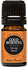 Edens Garden Good Morning Essential Oil Synergy Blend, 100% Pure Therapeutic Grade (Highest Quality Aromatherapy Oils- Energy & Stress), 5 ml
