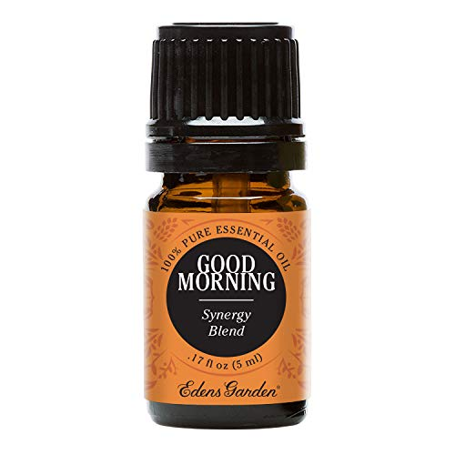 Edens Garden Good Morning Essential Oil Synergy Blend, 100% Pure Therapeutic Grade (Energy & Stress) 5 ml