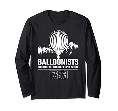 Tolles Geschenk für Ballonfahrer Heißluftballon Ballon Langarmshirt