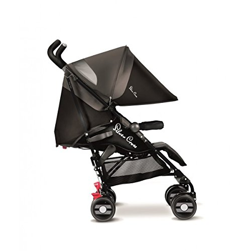 Silver Cross Pop Star - Silla de paseo, Negro