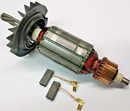 Motor Anker Rotor Läufer + Kohle für Bosch GBH 2-28,2-28 D,2-28 DV,2-28 DFV,2-28 F