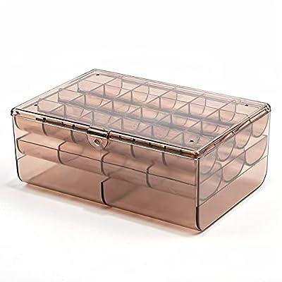 Amazon - 50% Off on Jewelry Box for Women With 3 Drawers, Clear Acrylic Jewelry Organizer