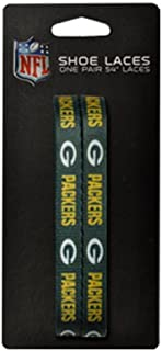 NFL Green Bay Packers 140cm LaceUps Shoe Laces