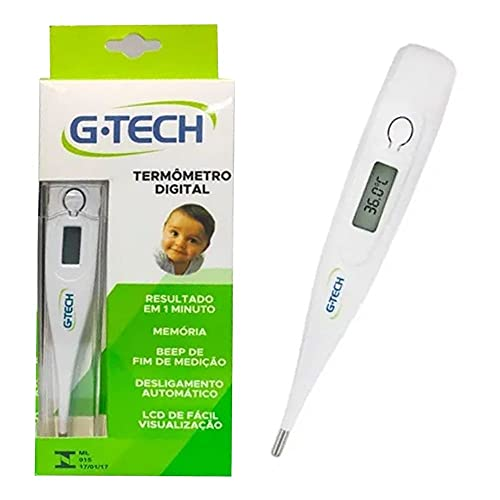 Termômetro Digital Gtech Clínico Branco, G-Tech