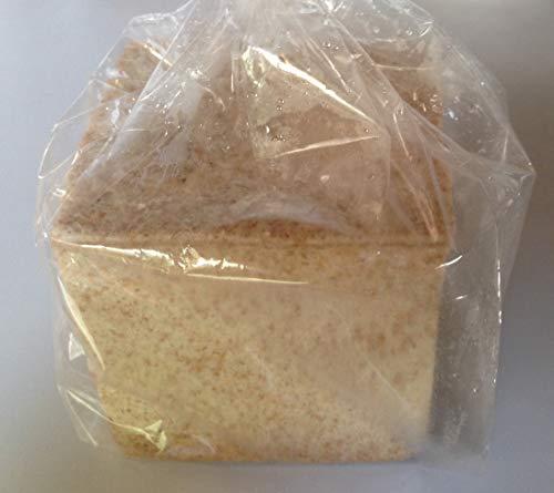 全粒粉パン(砂糖不使用・塩不使用)国産小麦の全粒粉90%使用 ミドルサイズ240g (ノンスライス)