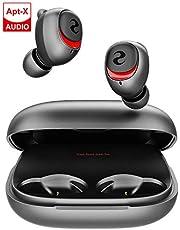 完全 ワイヤレス イヤホン iPhone Qualcomm® 音楽チップ Bluetooth イヤホン iPhone Android ブルートゥースイヤホン aptX/AAC/SBC対応 HiFi 重低音 CVC8.0ノイズキャンセリングAir IPX7防水Pods iPhone/iPad/Mac/PC対応 (ブラック)
