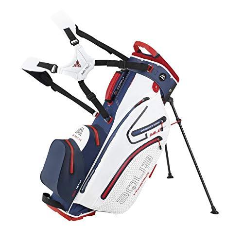 Big Max Golf Ständerbag 14 Fächer/Einteilung Tragebag Aqua Hybrid 2 Navy-White-Red