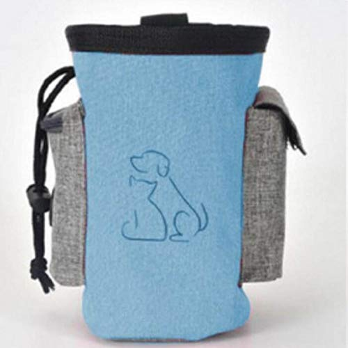 GSDJU Snack Bait Dog Outdoor Pouch Food Bag Dogs Snack Feeder Bag Useful Pet Dog Training Treat Dog Carriers Pack Pouch