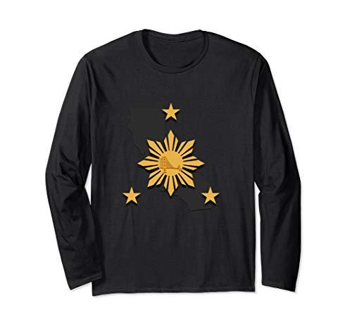 Filipino Heritage Shirt Pinoy Warrior Long Sleeve T Shirt