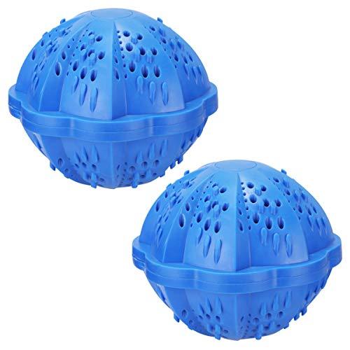 Waschball Waschen ohne Waschmittel nachhaltig Öko Waschkugel für Waschmaschine Wäschekugeln Zwei Packungen Allergikerfreundlich Power Pearls Umweltfreundlich