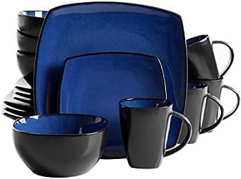 Gibson Elite Soho Lounge 16-Piece Dinnerware Set, Service for 4