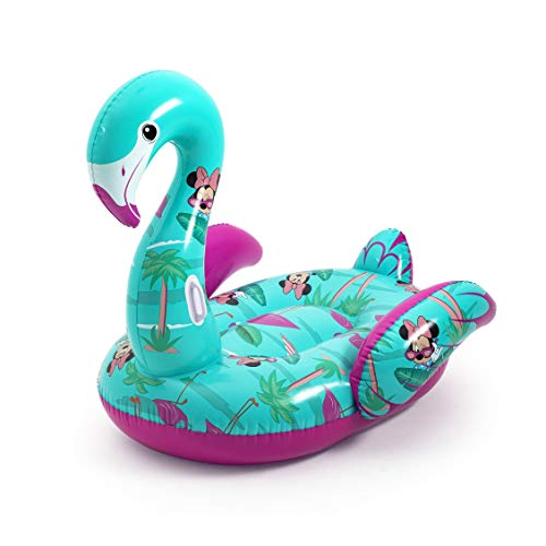 Bestway 91081 Minnie 1.73m x 1.70m Disney Fashion Flamingo Schwimmtier, color, 300x200cm