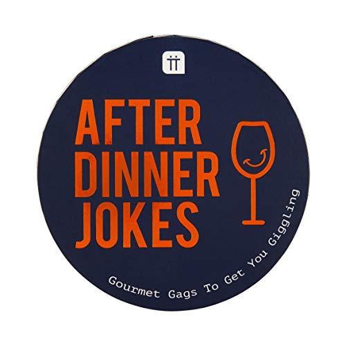 Nach dem Abendessen Witze | Essenswitze, Geschenkbox | Tischspiele | Lustig, urkomisch, Punchlines, Familienspiel, Freunde | Stocking Filler
