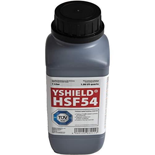 YShield RF Shielding Paint 1L Bin HSF54 - Blocks WiFi, Smart Meters, Cell Phones, Etc.