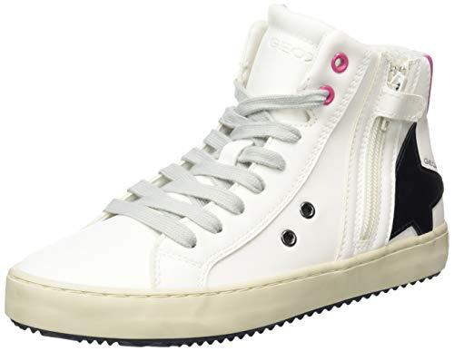 Geox J Kalispera Girl A, Sneaker, (off White), 35 EU