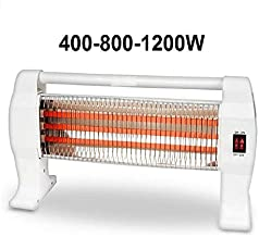 AV Calefactor de Cuarzo Estufa electrico 400/800 / 1200w 3 Tubos