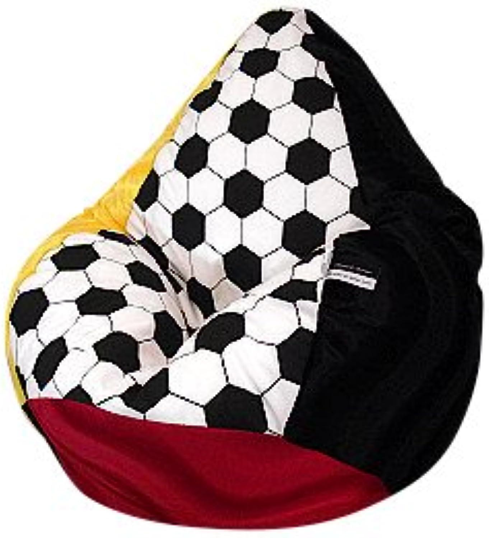 Sitzsack XL Fussball Nr.IV  Deutschland  incl. Inlett