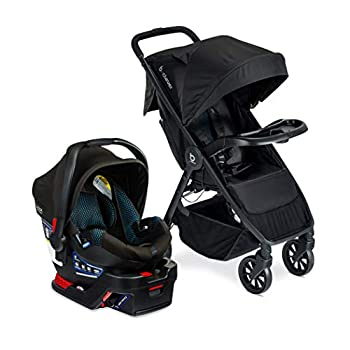 Britax B-Clever & B-Safe Gen2 Travel System with Child Tray Cool Flow Teal