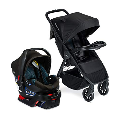 Britax B-Clever & B-Safe Gen2 Travel System with Child Tray, Cool Flow Teal