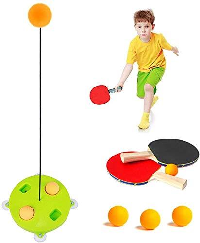 Ping Pong Bälle Tischtennis-Trainer , für Erwachsene/Teenager/Kinder/Kinder, elastisch, weiche Achse, Ping-Pong-Ball, Training, Helfer, Freizeit Dekompression, Sportausrüstung (Gewöhnliche Basis)