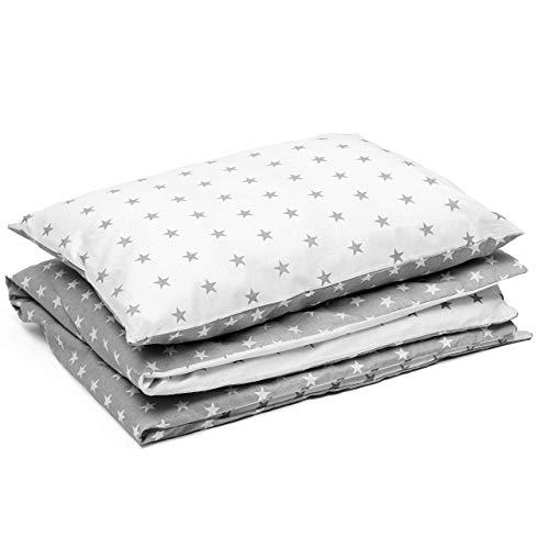 fundas nordicas infantiles edredon cuna 90 x 120 cm - set sabanas con cremallera funda de almohada 40x60 cm algodón
