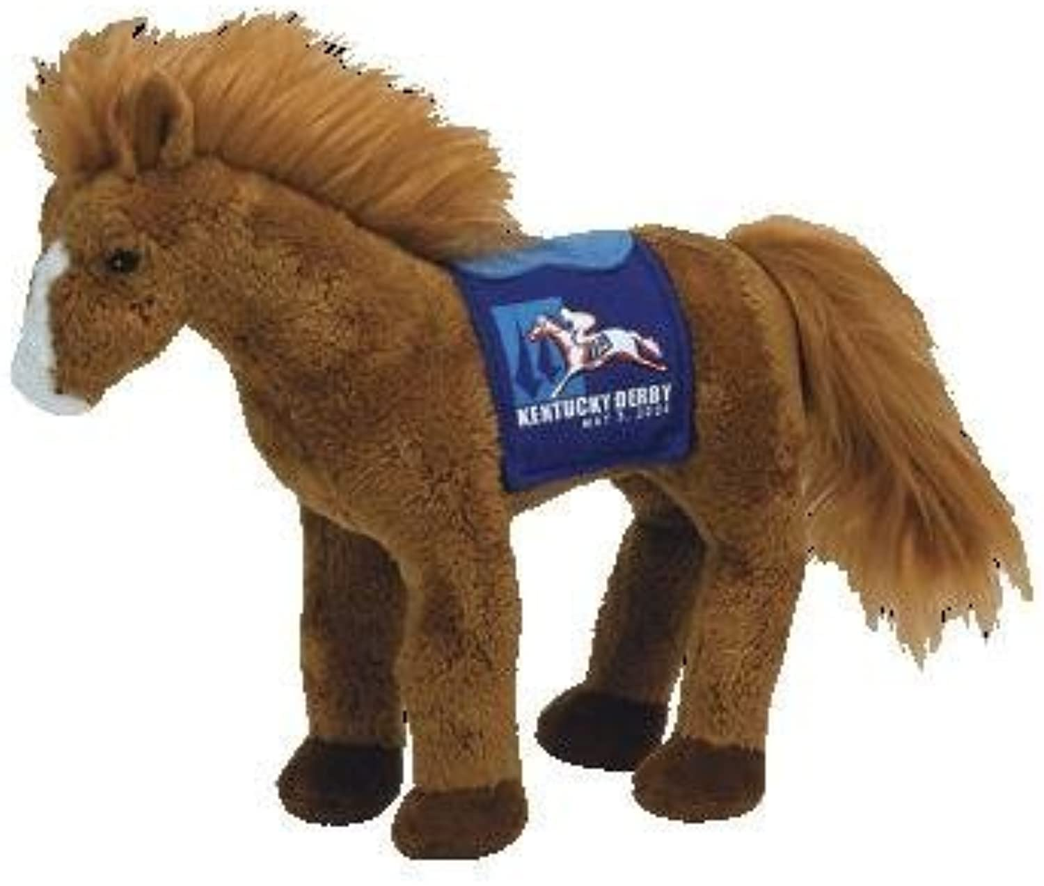 TY Beanie Baby  DERBY 134 the Kentucky Derby Horse (bluee Version) by Ty
