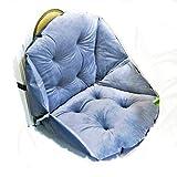 ZYHBB Sitzkissen Kissen Kissen körper 55 x 45cm Plus verdickte Anti-Rutsch Stuhl Pad atmungsaktiv Vier Jahreszeiten erhältlich Arsch Pad