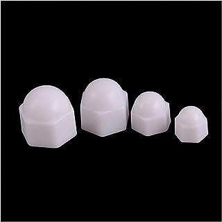 Color : Black, Size : M5 50PCS YJZG M2 M2.5 M3 M4 M5 M6 M8 M10 M12 PA66 Nylon Hex Nut Hexagon Plastic Hex Nuts